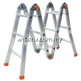 *SIRIM* ALUMINIUM LADDER MULTI PURPOSE LADDER 10*MADE IN MALAYSIA*