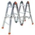 *SIRIM* ALUMINIUM LADDER MULTI PURPOSE LADDER 08*MADE IN MALAYSIA*A' Type Height 1279/4.20ft