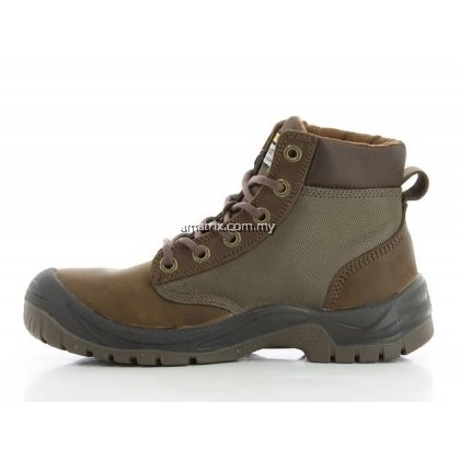 SAFETY JOGGER DAKAR Brown Middle Cut SAFETY SHOES
