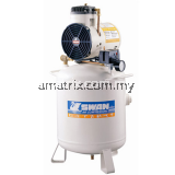 Swan Oil Less Air Compressor DR-115-22L 1.5hp 7Bar