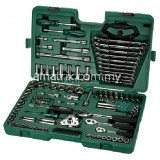 Socket Wrench Set 121pc 1/4,3/8,1/2 14kg Metric(SATA 09014A)