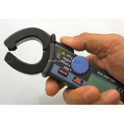 Kyoritsu 2431 Leakage Digital Clamp Meter