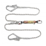PG141068-LOH Polyamide Twin Lanyard with E/Absorber