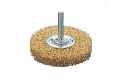"""50mm-2"""" Wire Wheel Brushes With 6mm Shank"""